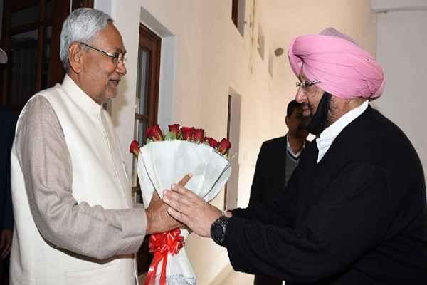 पंजाब चुनाव में कांग्रेस की तरफ से प्रचार के लिए अमरिंदर सिंह ने नितीश कुमार को दिया न्योता
