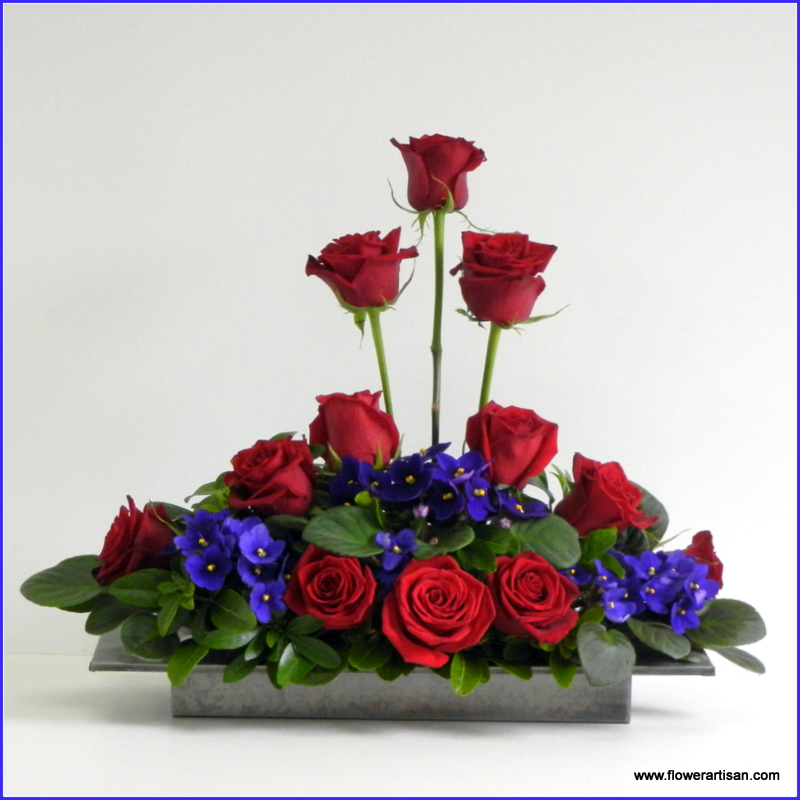 Artistry in Bloom's Blog: Roses are Red,Violets are Blue ...