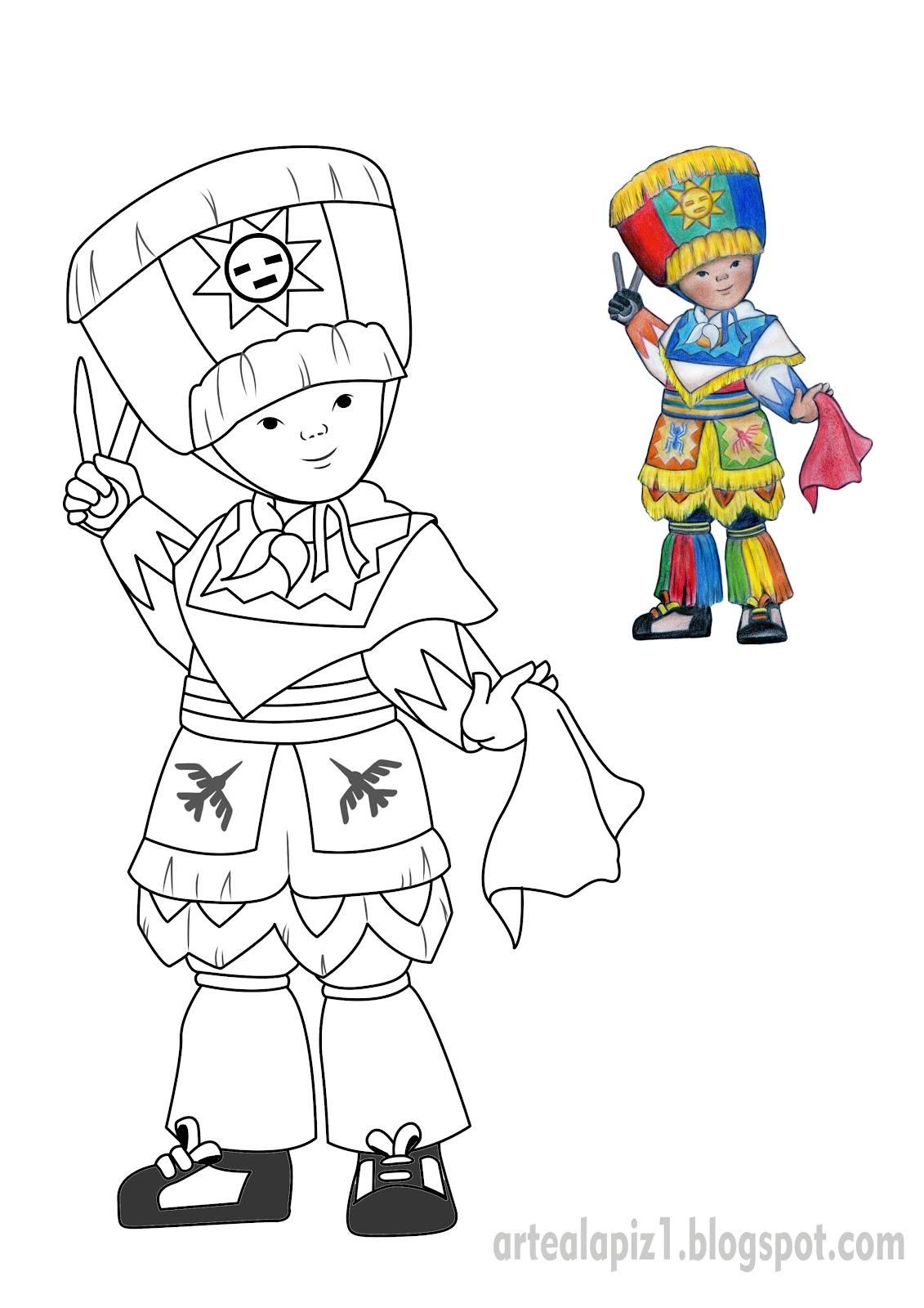 Dibujo a Lápiz: Danza de tijeras