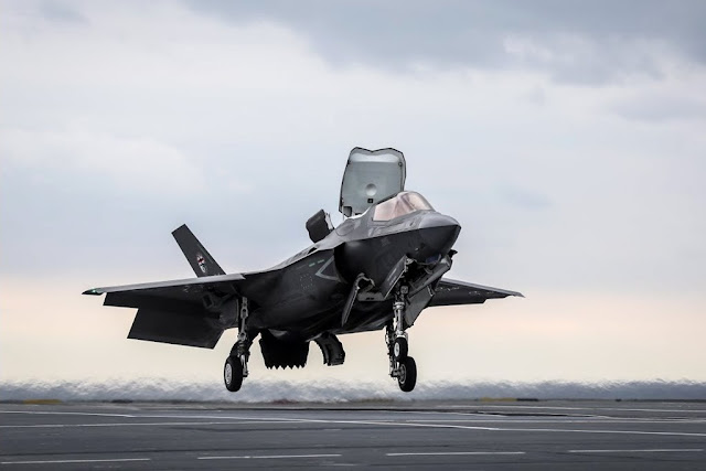 Revolutionary method landing F-35 Queen Elizabeth