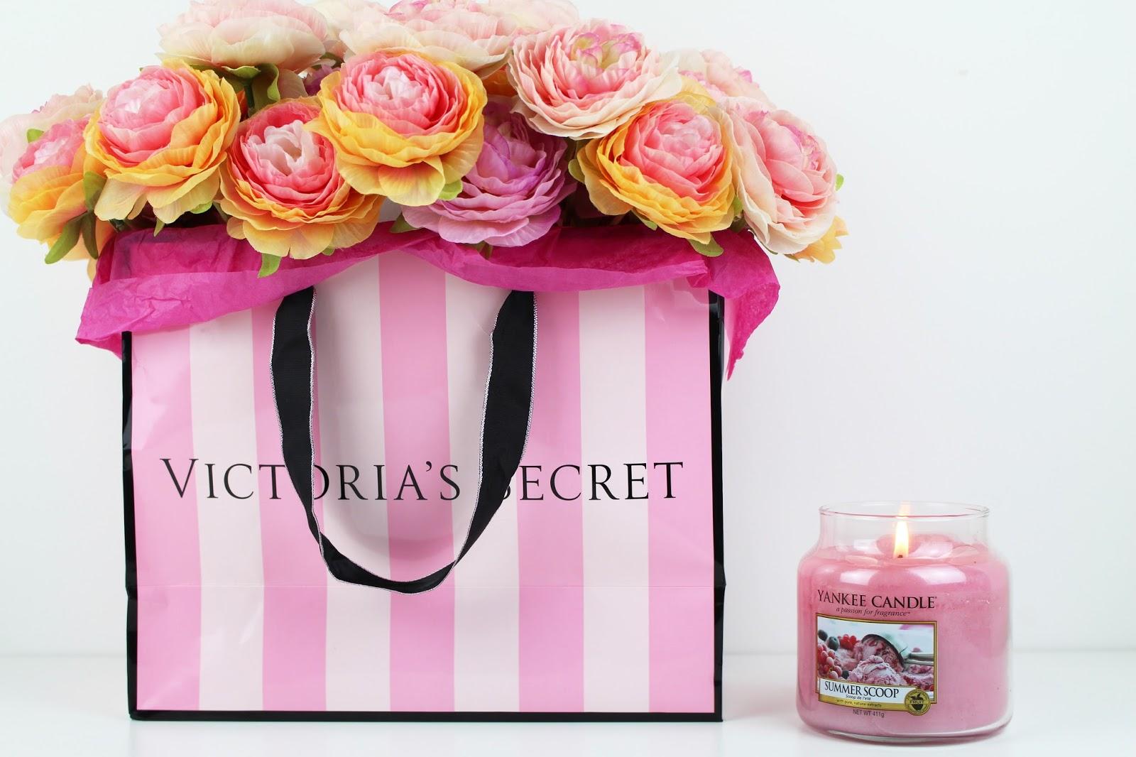 Victoria secret home decor