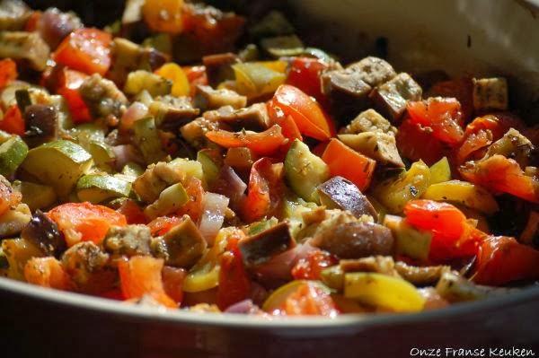 Ratatouille Uit De Oven Simpel En Lekker Onze Franse Keuken