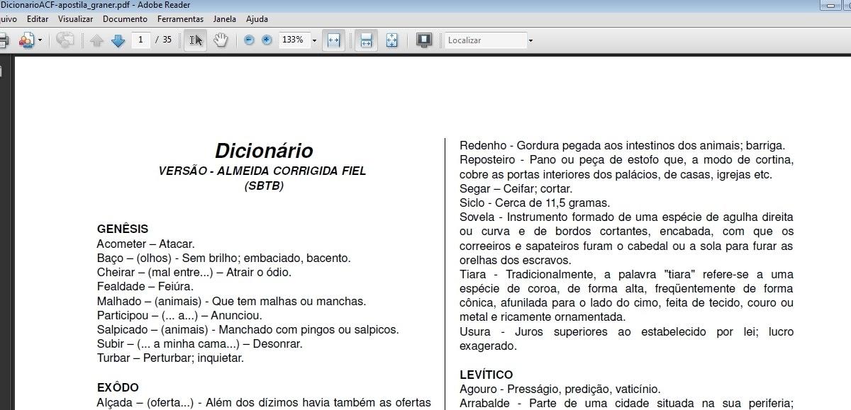 Bíblias Eletrônicas: Dicionário Bíblico da Versão Almeida ...