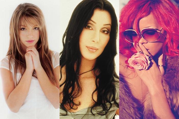 Las 20 canciones más vendidas en la historia de UK por artistas femeninas