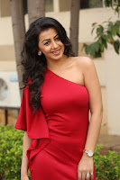 Nikki Galarani Sizzling Photos in Red HeyAndhra