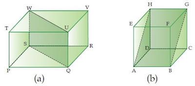 Pengertian Bidang Diagonal dan Contoh Soalnya