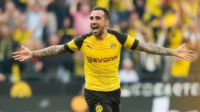 Paco Alcacer đang hồi sinh ở Dortmund.