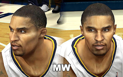 NBA 2K13 George Hill Cyberface Mod Patch