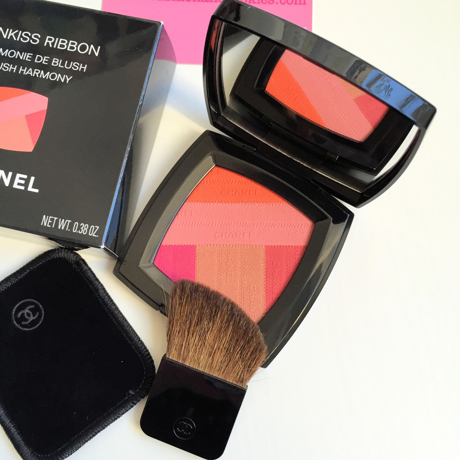 Chanel Sunkiss Harmonie de Blush from Chanel LA Sunrise collection on Fashion and Cookies fashion and beauty blog, beauty blogger