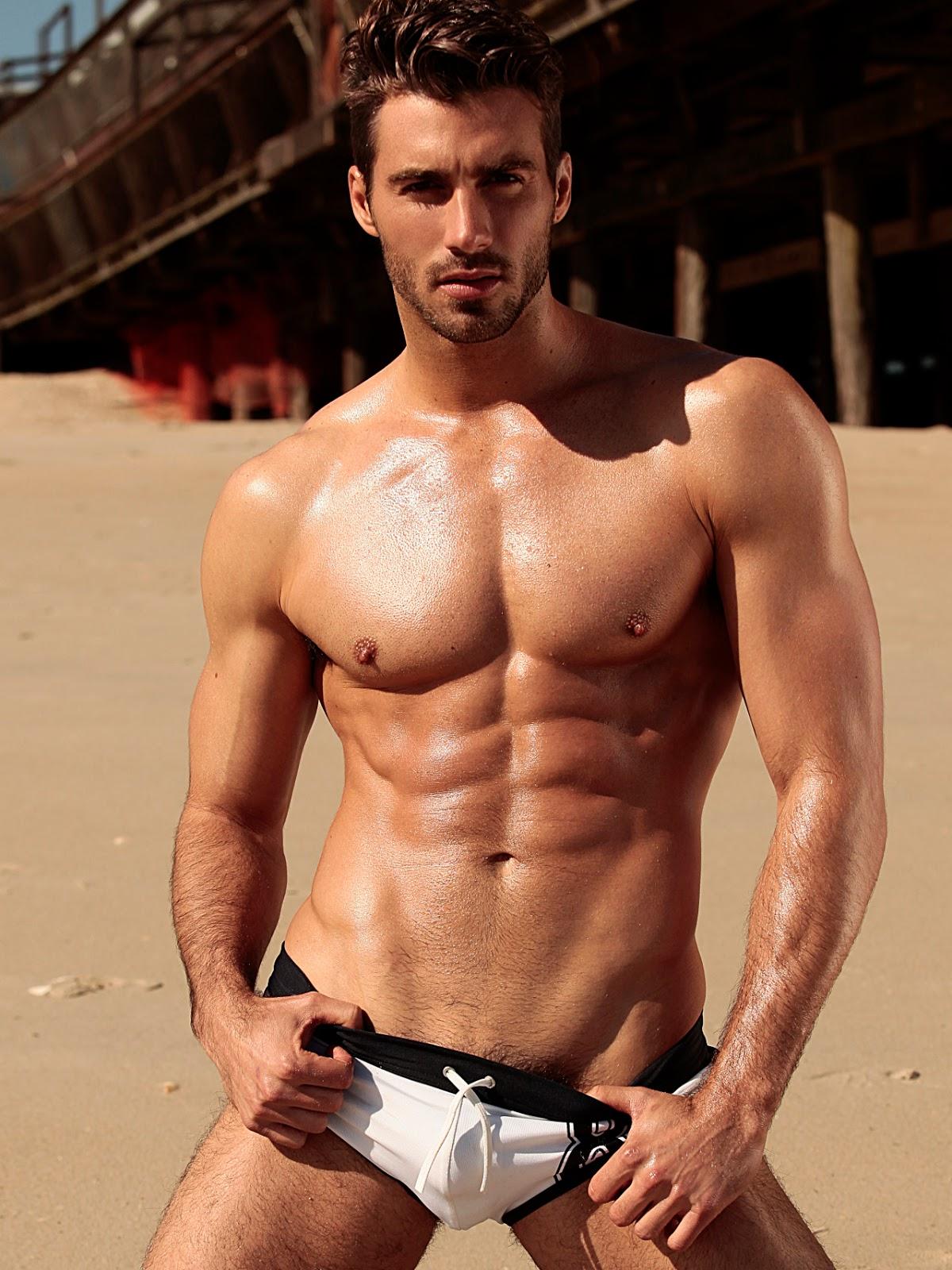 Muscle gay hunk