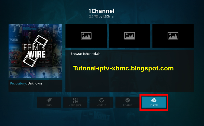 how to add 1channel to kodi android box