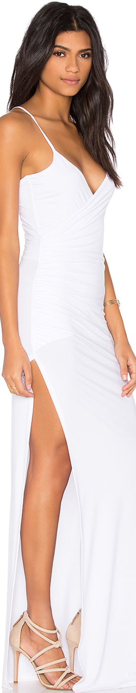AALI-AGNI DRESS SHOWN IN WHITE