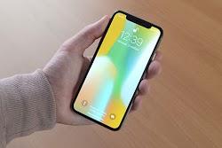 Desain iPhone X menjadi sangat pasaran oleh Android P