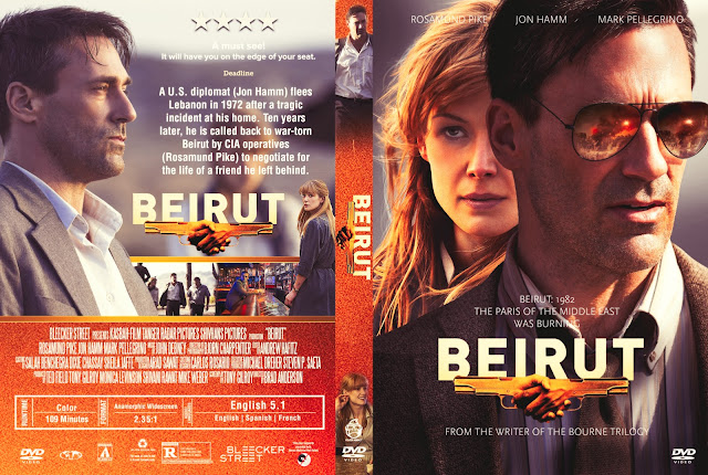 Beirut DVD Cover