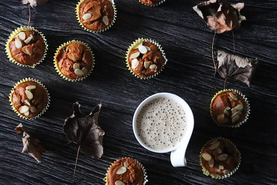 Pumpkin and almond muffin recipe