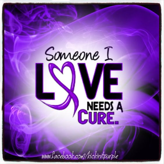 Someone I Love Needs a Cure.