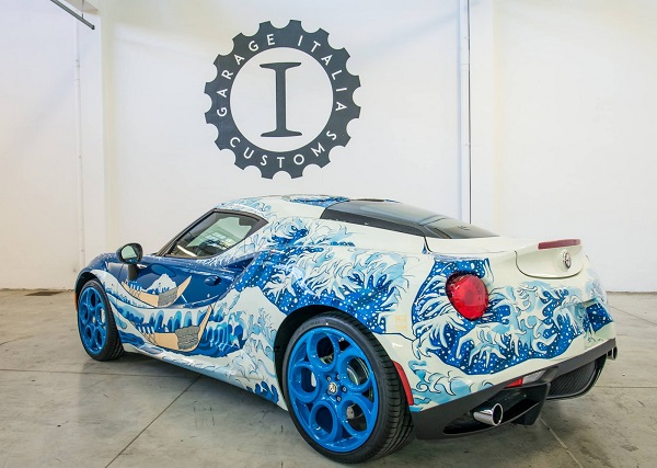 Garage Italia Customs Alfa Romeo 4C
