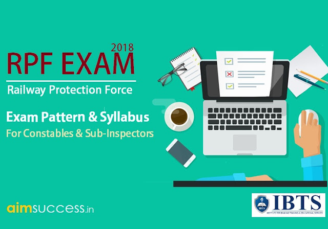 RPF Exam Pattern 2018 for Constables & Sub-Inspectors