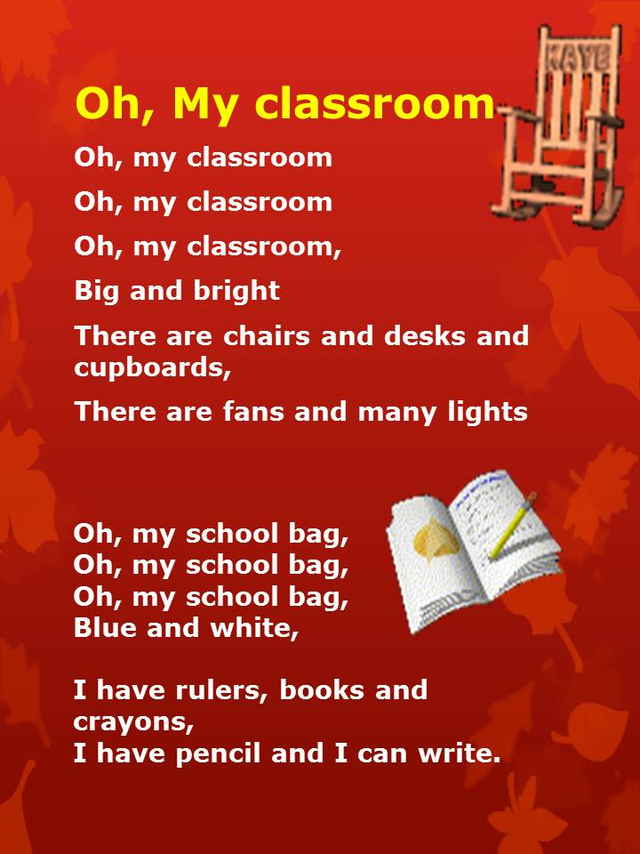 Oh My Clroom Nursery Rhymes Children Songs