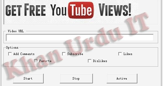YouTube View,like and Sub Bot Free ~ YouTube Auto Viewer