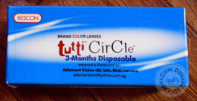 Review contact lens : Tutti Circle Beskon