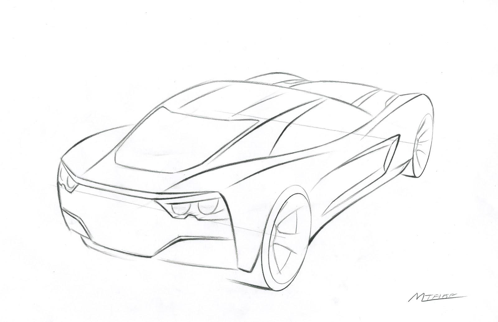 Corvet free coloring pages for Corvette car coloring pages