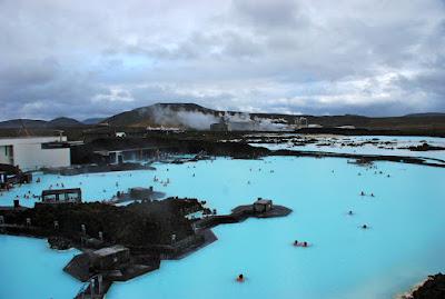 vistas areas del blue lagoon