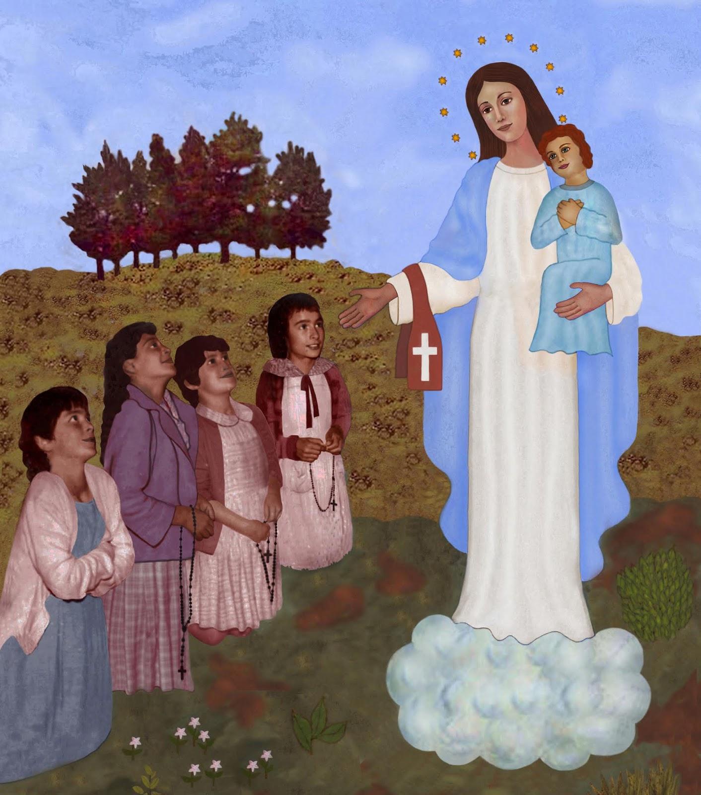 Nuestra Señora Madre de la Humanidad: Apariciones y mensajes de Nuestra Señora en Garabandal