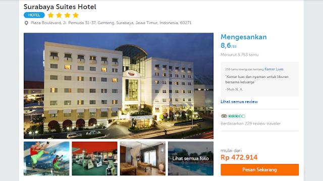 Pesan Hotel Murah di Travelooka saja