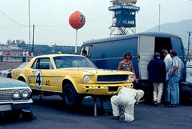 Just A Car Guy  Gregory Peck s half brother raced Mustangs in SCCA ... 08e0af2fbc