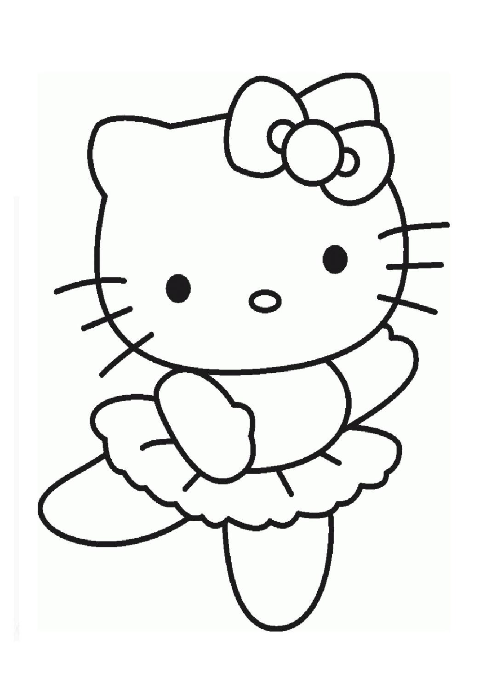 Yeni çocuk Boyamaları En Güzel Hello Kitty Boyamaları