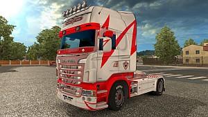 Scania RJL V8 Lightning skin