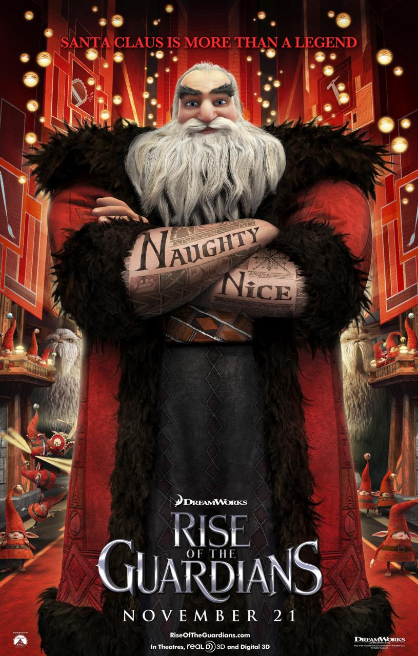 6 new character posters from rise of the guardians by - Pics of rise of the guardians ...