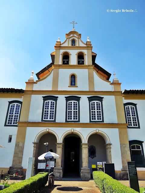 Fachada da Igreja do Mosteiro da Luz - Luz - São Paulo