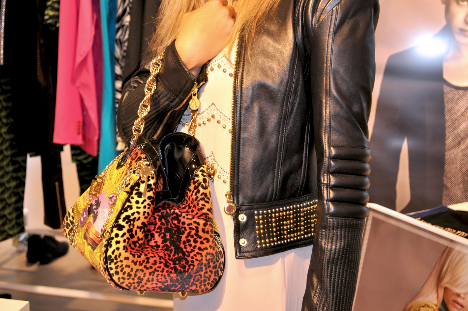 43055b4a515a Fashion Gourmet  Trying on the Versace for H M collection