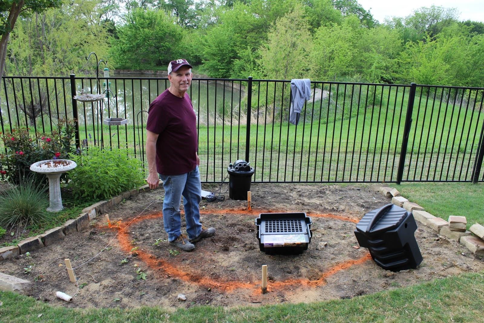 Building a Backyard Pond Part 1