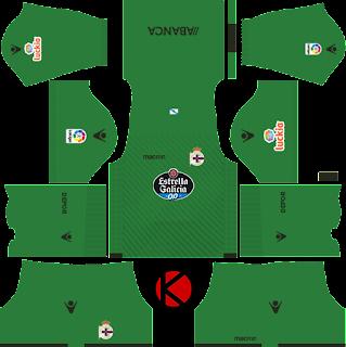 Deportivo de La Coruña Kits 2017/18 - Dream League Soccer