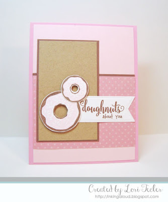 Doughnuts About You card-designed by Lori Tecler/Inking Aloud-stamps from Waltzingmouse Stamps