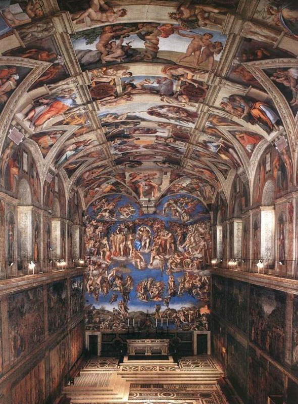 Vatican Museums - Capella Sistina