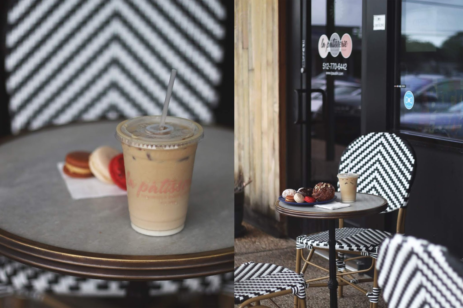 La Patisserre Austin, Iced Coffee, Cozy Coffee Shop, Coffee Shops Vibe