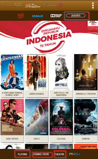 Cara Cek Jadwal Film XXI Cineplex Secara Online Langsung Di HP