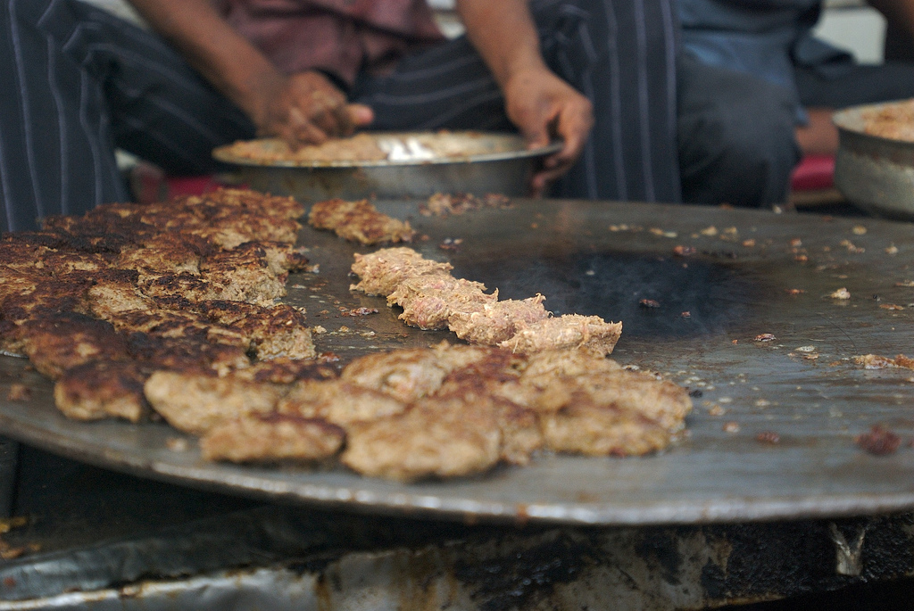 Street food of lucknow tunday kebab and other top food tips for a the iconic tunday kebabs getting ready picture credit prashant sareen forumfinder Choice Image