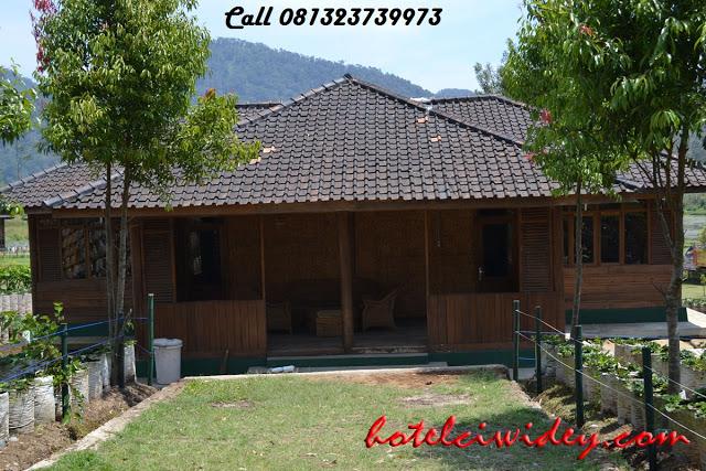Booking villa di area wisata kawah putih dari tegal