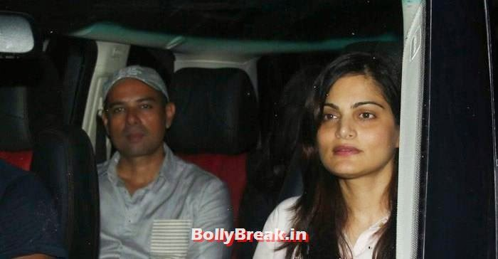 Elvira Khan, Celebs clicked at 'Kick' Special Screening at Yash Raj Studios