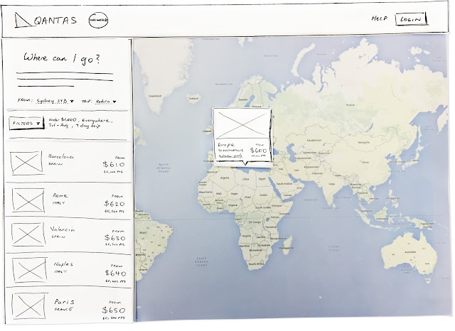 Qantas map search - Cory Aedificem