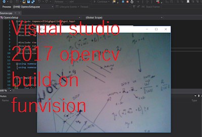 Opencv Visual Studio 2017 build