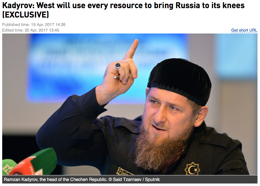 Kadyrov will attract Americans to train Chechen special forces 11/23/2016 41