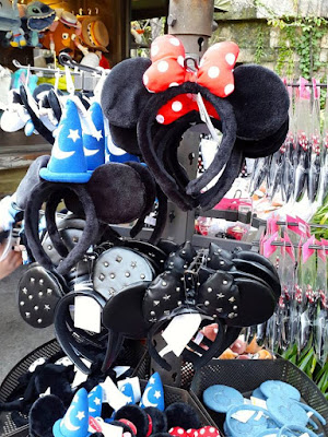 Mickey Mouse Hairbands at Tokyo Disneysea Japan