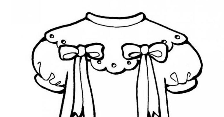 Mewarnai Baju Anak Perempuan Mewarnai S