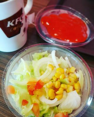 makanan Vegetarian di Kfc